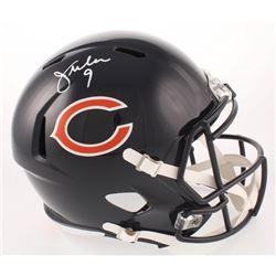 Jim McMahon Signed Chicago Bears Full-Size Speed Helmet (Beckett COA)