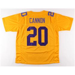"Billy Cannon Signed Jersey Inscribed ""Heisman '59"" (Radtke COA)"