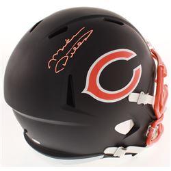 Mike Ditka Signed Chicago Bears Matte Black Full-Size Speed Helmet (Schwartz COA)