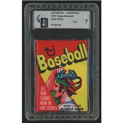 1973 Topps Baseball Wax Pack (GAI 7)