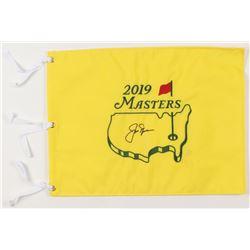 Jack Nicklaus Signed 2019 Masters Golf Pin Flag (JSA ALOA)