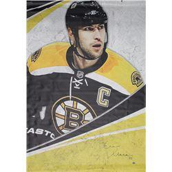 Zdeno Chara Signed Boston Bruins 48x70 Banner (Chara Hologram)