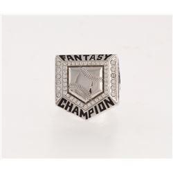 Fantasy Baseball Championship Ring from Fantasy Champs