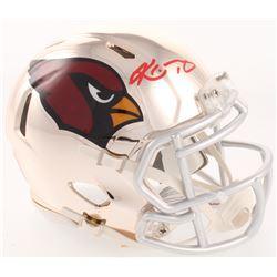 Kyler Murray Signed Arizona Cardinals Chrome Speed Mini Helmet (Beckett COA)