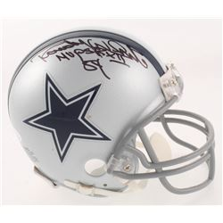 "Randy White Signed Dallas Cowboys Mini Helmet Inscribed ""MVP SB XII"" (JSA COA)"