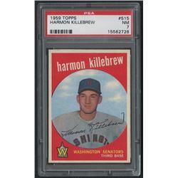 1959 Topps #515 Harmon Killebrew (PSA 7)