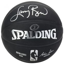 Larry Bird Signed Arena Series Basketball (Fanatics Hologram)
