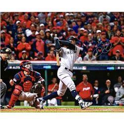 "Didi ""Sir Didi"" Gregorius Signed New York Yankees ""Game 5 ALDS HR"" 16x20 Photo (Fanatics Hologram  M"
