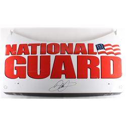 Dale Earnhardt Jr. Signed Race-Used National Guard #88 Deck Lid (PA COA)