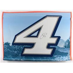 Kevin Harvick Signed Race-Used Busch Light #4 Full Door Sheet Metal (PA COA)