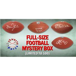 Schwartz Sports Football Superstar Signed Full-Size Football - Series 11 (Limited to 100)