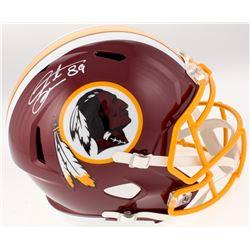 Santana Moss Signed Washington Redskins Full-Size Speed Helmet (JSA COA)