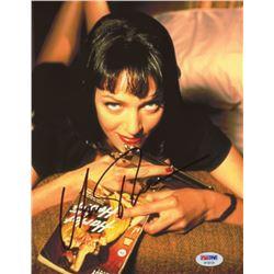 "Uma Thurman Signed ""Pulp Fiction"" 8x10 Photo (PSA COA)"