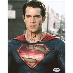 "Henry Cavill Signed ""Man of Steel"" 8x10 Photo (PSA COA)"