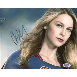 "Melissa Benoist Signed ""Supergirl"" 8x10 Photo (PSA COA)"