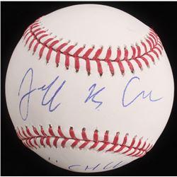 "Jeff Cohen Signed OML Baseball Inscribed ""Chunk"" (PSA Hologram)"