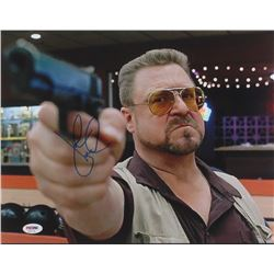 "John Goodman Signed ""The Big Lebowski"" 11x14 Photo (PSA Hologram)"