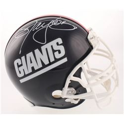Lawrence Taylor Signed New York Giants Full-Size Authentic On-Field Throwback Helmet (Beckett COA)