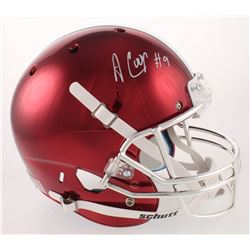 Amari Cooper Signed Alabama Crimson Tide Full-Size Chrome Helmet (Radtke COA)