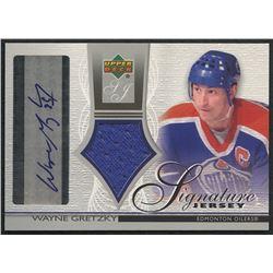 2003-04 Upper Deck Jersey Autographs #SJWG Wayne Gretzky