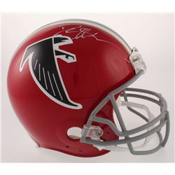 Deion Sanders Signed Atlanta Falcons Full-Size Authentic On-Field Throwback Helmet (Radtke COA)