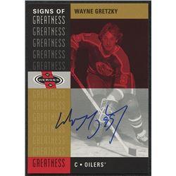 2000-01 Upper Deck Heroes Signs of Greatness #WG Wayne Gretzky SP