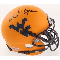 Will Grier Signed West Virginia Mountaineers Mini-Helmet (Radtke COA)