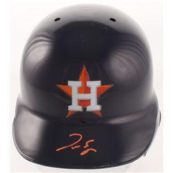 George Springer Signed Houston Astros Full-Size Batting Helmet (Radtke COA)