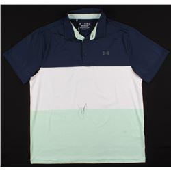 Jordan Spieth Signed Under Armour Golf Polo Shirt (JSA LOA)