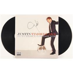 "Justin Timberlake Signed ""FutureSex/LoveSounds"" Vinyl Record Album Cover (Beckett LOA)"