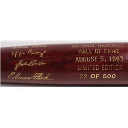 LE Custom Engraved Louisville Slugger Powerized Hall of Fame Logo Baseball Bat with Sam Rice, John C