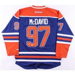 Connor McDavid Signed Edmonton Oilers Jersey (Beckett COA)