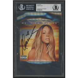 "Mariah Carey Signed ""Me. I Am Mariah... The Elusive Chanteuse"" CD Cover (BGS Encapsulated)"