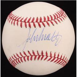 John Smoltz Signed OML Baseball (PSA COA)