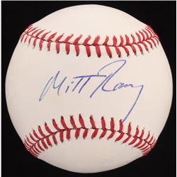 Mitt Romney Signed OML Baseball (PSA COA)