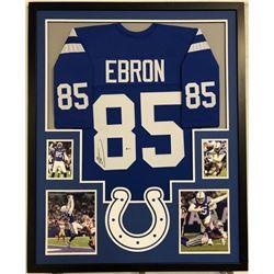 Eric Ebron Signed 34x42 Custom Framed Jersey (Beckett COA)