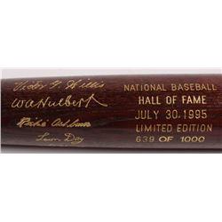 LE Custom Engraved Louisville Slugger Powerized Hall of Fame Logo Baseball Bat with Richie Ashburn,