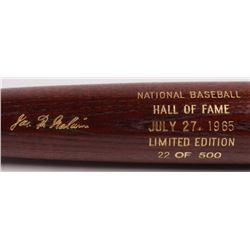 Pud Galvin LE Custom Engraved Louisville Slugger Powerized Hall of Fame Logo Baseball Bat