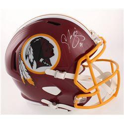 Champ Bailey Signed Washington Redskins Full-Size Speed Helmet (JSA COA)