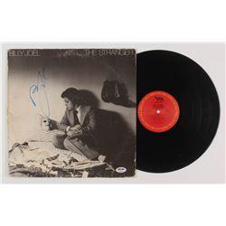 """Billy Joel Signed """"The Stranger"""" Vinyl Record Album (PSA Hologram)"""