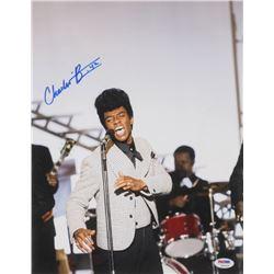 "Chadwick Boseman Signed ""Get on Up"" 11x14 Photo (PSA Hologram)"