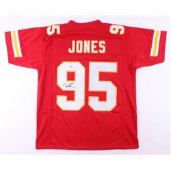 Chris Jones Signed Jersey (Beckett COA)