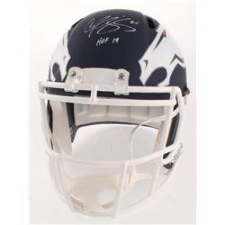 """Champ Bailey Signed Denver Broncos Full-Size AMP Alternate Speed Helmet Inscribed """"HOF 19"""" (JSA COA)"""
