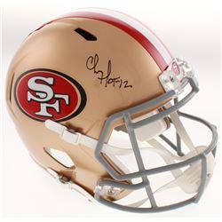 "Chris Doleman Signed San Francisco 49ers Full-Size Speed Helmet Inscribed ""HOF 12"" (Radtke COA)"
