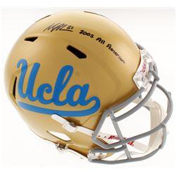 "Maurice Jones-Drew Signed UCLA Bruins Full-Size Speed Helmet Inscribed ""2005 All American"" (Radtke C"