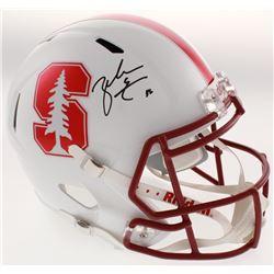 Zach Ertz Signed Stanford Cardinal Full-Size Speed Helmet (Radtke COA)