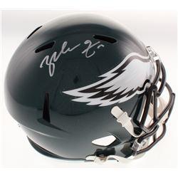 Zach Ertz Signed Philadelphia Eagles Full-Size Speed Helmet (Radtke COA)