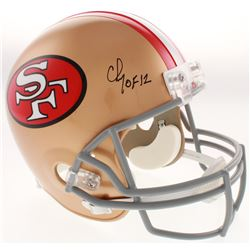 "Chris Doleman Signed San Francisco 49ers Full-Size Helmet Inscribed ""HOF 12"" (Radtke COA)"