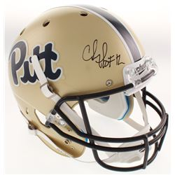 "Chris Doleman Signed Pittsburgh Panthers Full-Size Helmet Inscribed ""HOF 12"" (Radtke COA)"