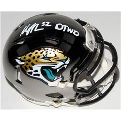 "Maurice Jones-Drew Signed Jacksonville Jaguars Chrome Speed Mini Helmet Inscribed ""DTWD"" (Radtke COA"